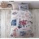Clasy Tek Kişilik Ranforce Multiset Yatak Örtüsü Seti Luda V3