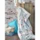 Cotton Box Tek Kişilik Alaturca Ranforce Nevresim Takımı Çeşminaz Turkuaz