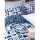 Cotton Box Minimal Tek Kişilik Ranforce Nevresim Takımı Palo Mavi