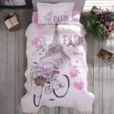 Clasy Genç Yatak Örtüsü Paris Love
