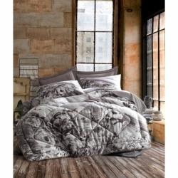 Cotton Box Çift Kişilik Belinda Saten Uyku Seti Vizon