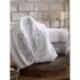 Dantela Vita Bambu Aile Bornoz Seti Merlin Beyaz Gri