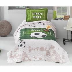 Clasy Genç Yatak Örtüsü Soccer V1