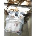 Cotton Box Çift Kişilik Maritime Dört Mevsim Yacht Mavi