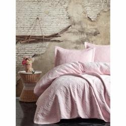 Cotton Box Soft Çift Kişilik Yatak Örtüsü Pembe