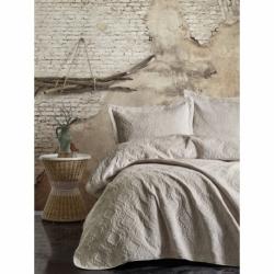 Cotton Box Soft Çift Kişilik Yatak Örtüsü Bej