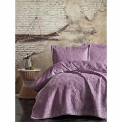Cotton Box Soft Tek Kişilik Yatak Örtüsü Lila