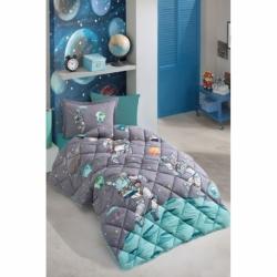 Clasy Genç Pamuklu Ranforce Uyku Seti Space