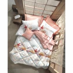 Cotton Box Çift Kişilik Maritime Pamuklu Ranforce Uyku Seti Lara Pembe