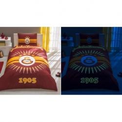 Taç Tek Kişilik Lisanslı Nevresim Takımı Galatasaray Parlayan Güneş
