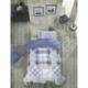 Cotton Box Tek Kişilik Plain Sport Ranforce Nevresim Takımı Bordo