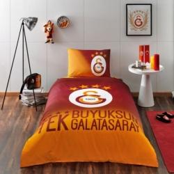 Taç Tek Kişilik Lisanslı Nevresim Takımı Galatasaray 4 Yıldız