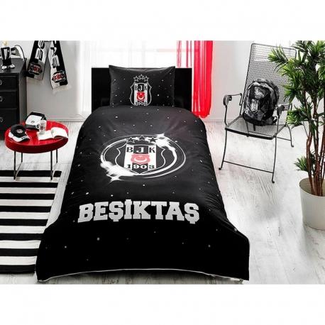 Taç Lisanslı Nevresim Takımı Beşiktaş Üç Yıldız