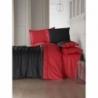 Cotton Box Fashion Saten Çift Kişilik Nevresim Takımı Kırmızı