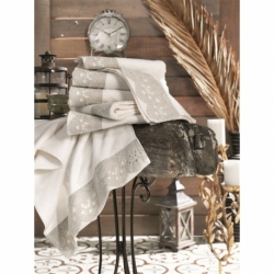 Cotton Box Çift Kişilik Pamuklu Ranforce Uyku Seti Marina Mavi