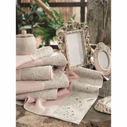Cotton Box Çift Kişilik Pamuklu Ranforce Uyku Seti Sandrea Mavi